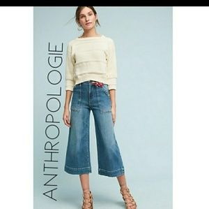 Pilcro and the Letterpress| Anthropologie wide leg